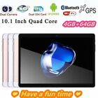 10.1'' Android 7.0 Tablet Pc 4gb+64gb Octa 8 Core Hd Wifi Bluetooth Dual Sim Ph