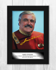 """James Doohan Star Trek """"Scotty"""" A4 signed mounted poster. Choice of frame. on eBay"""
