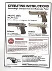 Magnum Research Owners User Manuals Desert Eagle, MR9/MR40, Baby Eagle, SEE MOREManuals - 106973