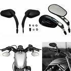 Motorcycle Mirrors For Road King Sportster Street Glide Electra Road Glide Dyna $5.5 USD on eBay