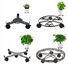 Adjustable Plant Caddy Rolling Stand Garden Trolley Moving Planter Wheels Locks