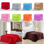 Throw Soft Plush Fleece Blanket Mink Sofa Home Bed Luxury King Queen Large Sizes image