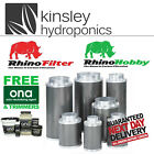 Rhino Pro & Hobby Filter 4 5 6 8 10 12 Inch Carbon Hydroponics FREE ITEMS