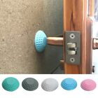 Door Handle Crash Pad Self Adhesive Mute Rubber Door Stopper Wall Protector 1pc