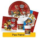 PAW PATROL Birthday Party Range - Tableware Balloons Supplies Decorations Procos