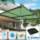 Sun Shade Sail Rectangle Patio Top Replacement Cover 16*20 Top Canopy Shelter SA