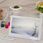 """10""""HD TFT LCD Digital Photo Frame Picture Album Movie Player Remote Control USA"""