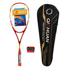 Qichuan Graphite Carbon Squash Racket 125g - Red / Blue / Black / Pink