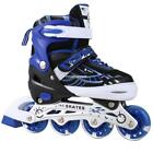 Skates Adjustable Inline Skates W/ Light Up Wheels Roller Blades for Girl Boy US