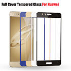 Full Tempered Glass Cover Screen Clear Protector Film For Huawei P8 P9 P10 Lite