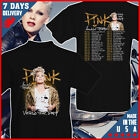 PINK Singer BEAUTIFUL TRAUMA TOUR 2019 T shirt Back Cotton S-6XL image