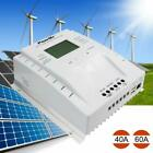40A/60A 12V/24V LCD MPPT Solar Panel Charge Controller Battery Regulator 1500W A