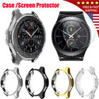 Electroplated TPU Case Cover Screen Film for Samsung Gear S3 /Galaxy Watch 46mm image