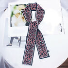 1pc Women Silk Feel Satin Square Scarf Small Vintage Head Neck Tie Hairband