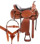 Used Ranch Saddle Western Endurance Pleasure Trail Matching Leather Horse Tack