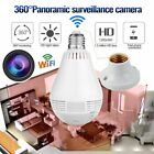 360 Degree Panoramic 960P Light Bulb Camera Hidden WiFi Home IP Security Mini RE