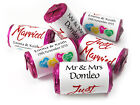 Personalised Mini Love Heart Sweets for Weddings favours,Married-Ebay's Cheapest