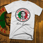 Lucky Luciano T-shirt, all sizes white tee, mob, Mafia, gangster image