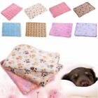 Cute Pet Dog Blanket Beds Mat Puppy Hamster Indoor Cat Soft Floral Warm Print