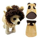 Pet Dog Cat Puppy Hoodie Clothes Lion Warm Winter Costume Coat Apparel Cosplay