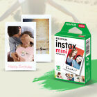 Fujifilm Instax Mini White Film Photo Paper Instant Print for Mini 7s/8/25/90/9