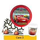 Disney CARS 3 Birthday PARTY Range Tableware Balloons Decorations Supplies (1C)