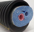 "Outdoor Wood Boiler Five Wrap Insulated 3/4"" Oxygen Barrier Pex Tubing-Pipe"