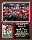 Wisconsin Badgers 2018 Pinstripe Bowl Champions Plaque