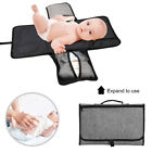 Portable Infants&Newborns Changing Pad Baby Diaper Station Clutch Bag Travel Mat