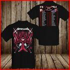 METALLICA T- Shirt Worldwired Tour 2018 2019 Concert T Shirt Black Men Cotton Te