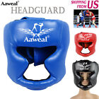 Boxing headgear MMA Face Protector Head Guard Kick Helmet Martial Art Training