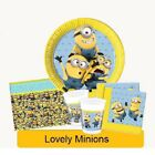 LOVELY MINIONS Birthday Party DESPICABLE ME Tableware Supplies Decorations (1C)