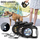 8M Retractable Dog Leash Eextendable LED Pet Automatic Walking 50kg For big dogs