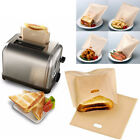 1/2PCS Toaster Bags Reusable Non-become entangled Baked Toast Bread Bags for Sandwiches