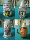 ORIGINAL KING GERMAN STEIN FROM KING WORKS # 409 AND # 406 - EDELWEISS MUG PICK