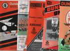 Dundee United HOME programmes 1970s 1980s 1990s League & Cup