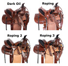 Ranch Saddle 12 13 14 Children Cowboy Youth Roper Work Western Leather Tack Set