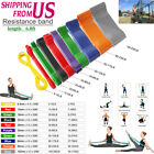 Exercise Bands Latex Resistance Body Stretching Pull Up Assist Bands Fitness image