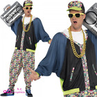 Mens 80s Hip Hop Star Rapper Vanilla Ice MC Hammer 90s Adult Fancy Dress Costume