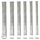 Stainless Steel Stretch Expansion Watch Band Strap Bracelet 10/12/14/16/18/20mm image