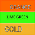 Queen Deep Pocket ORANGE, LIME GREEN, GOLD SHEETS WON'T POP OFF ALL QUEEN Beds image