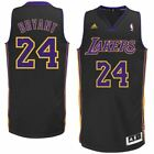 NBA KOBE BRYANT LA LAKERS #24 SWINGMAN JERSEY BLACK
