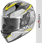 Shark Ridill Stratom Mat Grey Fluo Yellow Motorcycle Helmet Motorbike Scooter