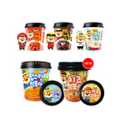 [New] Pororo Korean Instant Cup Stir-fried Rice Cake Tteokbokki Korea Food 4type