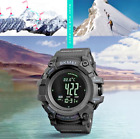 Waterproof Bluetooth Smart Watch Countdown Pressure Compass Alarm Digital  image