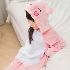 Xmas Kids Pajamas Kigurumi Unisex Cosplay Animal Costume Child Onesis Nightwear