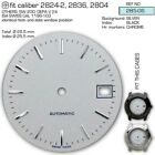DIAL FOR MOVEMENT ETA 2824-2 or SW 200, Ø 28.5MM, different colors