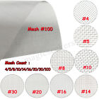 304  Stainless Steel Wire Cloth Screen Filter 4/5/8/10/14/16/20/30/100