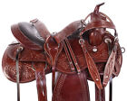Used Western Saddles 15 16 17 18 Cowboy Endurance Trail Leather Horse Tack Set