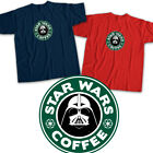 Star Wars Darth Vader Dark Lord Sith Jedi Coffee Shop Logo Unisex Tee T-Shirt $16.2 USD on eBay